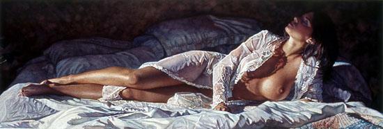 Steve Hanks e Suas Pinturas Sensuais